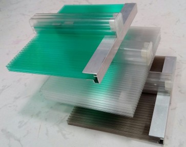 Polycarbonate U Lock Panel Sheet