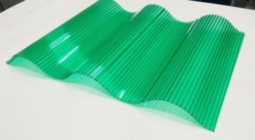 Polycarbonate Corrugated Wave Sheet ( GC Pattern)   VS - 21