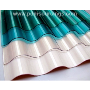 Polycarbonate Corrugated Sheet  VS 24-25