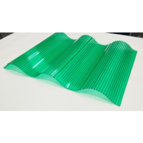 Polycarbonate Corrugated Wave Sheet ( GC Pattern)   VS - 21